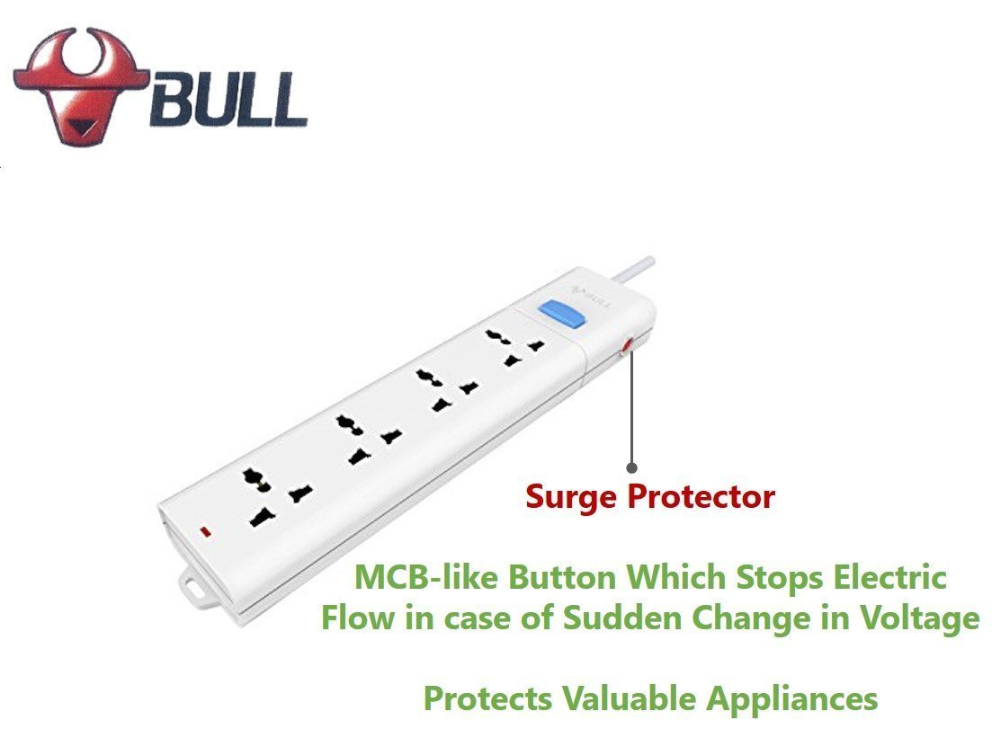 Bull 4 Socket1 Switch3 M Wire Extension Board With Circuit Breaker Wiring Cooker Switch Socket